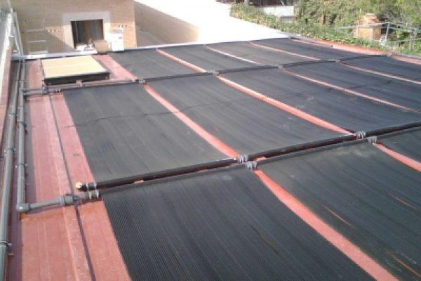 Paneles solares piscinas madrid instalaci n calentadores for Piscina solares