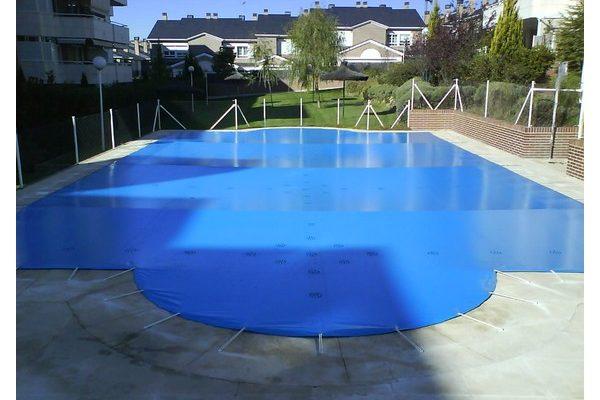 Lona de invierno madrid venta lonas y cobertores para for Cubiertas de lona para piscinas