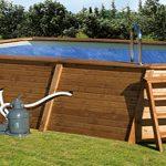 piscinas con exteriores de madera
