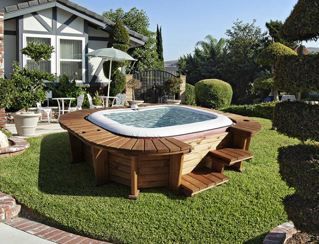 Hawai spa piscinas de madera gama basic piscinas - Fabricacion de piscinas ...