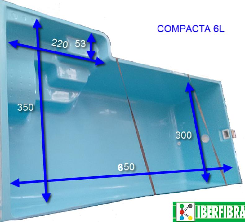 Nueva Piscina Compacta 6l Blog Piscinas Iberfibra