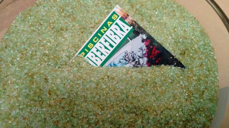 cambio de arena del filtro por cristal verde puro afm