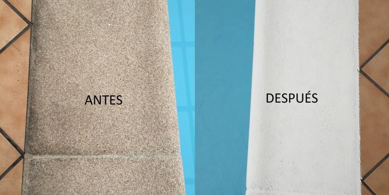 Renovador albardillas blog piscinas iberfibra for Piedra artificial para piscinas
